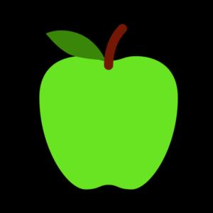 Tegning av et eple