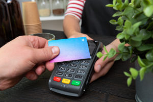 Betaling med betalingsterminal