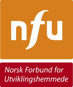 Logo av NFU Norsk Forbund for Utviklingshemmede